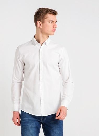Mustang Gömlek Beyaz